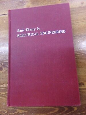 Vtg 1955 Basic Theory in Electrical Engineering Hardcover Book Kloeffler & Sitz