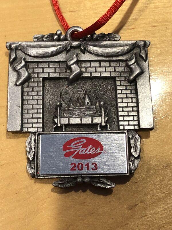 Gates Rubber Company Chrismas Ornament 2013