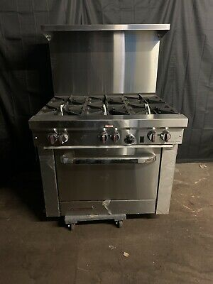Southbend S36d 6 Burner Commercial Gas Range Scratch And Dent