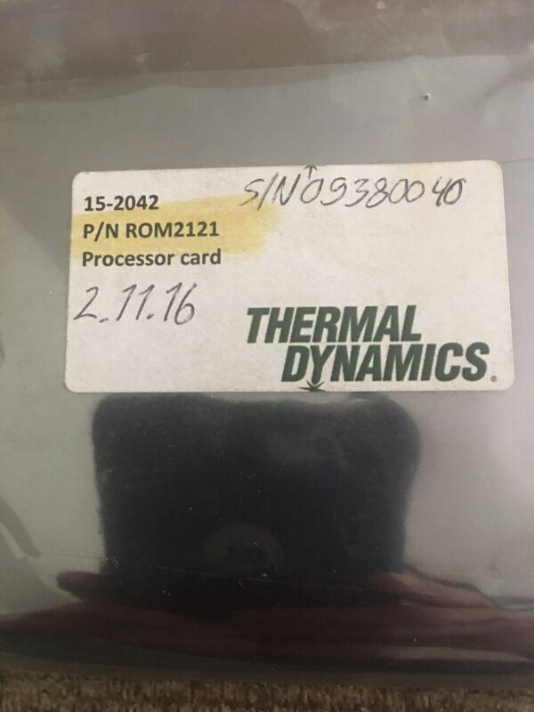 Thermal Dynamic 15-2042 P/N ROM2121 Processor Card.