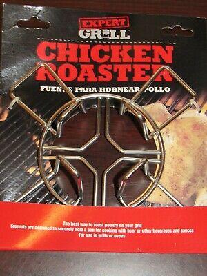 Chicken Roaster Beer Can/Barbeque/Grill Oven Metal Roaster NEW IN PACKAGE Chicken Beer Oven