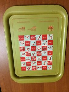 Olympic Games Tray 1976 Montreal