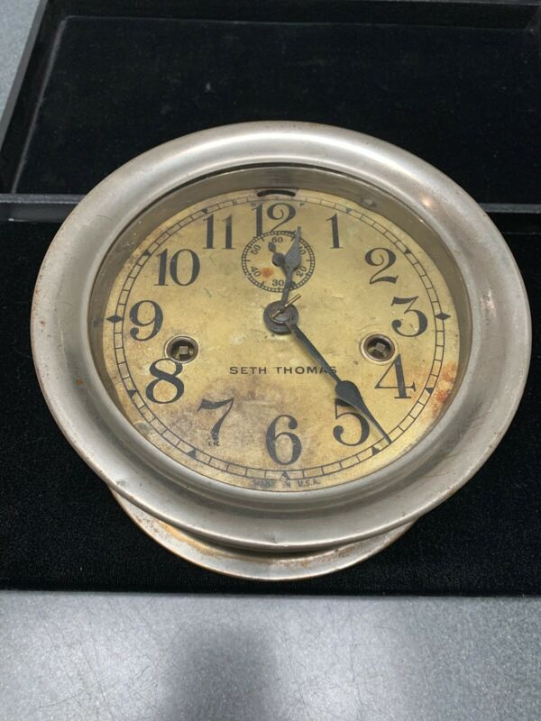 Antique Seth Thomas Ship Clock