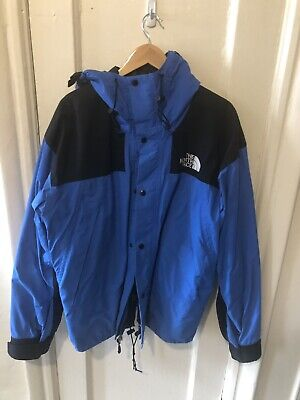The North Face Sky Blue 1990s Mountain Guide Jacket *perfect Condition (Face Shape Guide)
