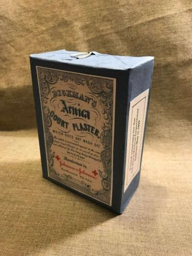 Spanish American War US Army Medical Department contract box of Court plaster