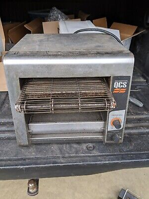 Star Holman Qcs-q1-35 Compact Toaster Conveyor Oven Quartz Convention System