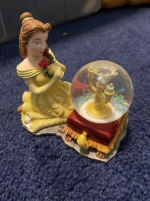 Beauty And The Beast Bell Lumiere Snow Globe
