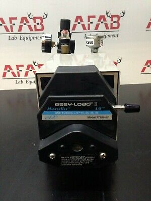 Cole-parmer Masterflex Pump 7569-00 With Easy-load Ii Pump Drive 77200-62