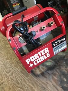 Porter Cable 135psi 1.6hp 4gallons Compressor