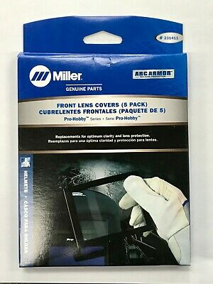 Miller Pro-hobby Series Front Lens Covers - 5 Pack - 231411