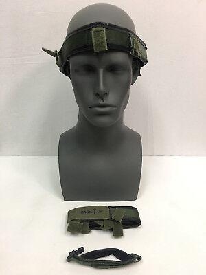 NEW Gentex Helmet Replacement Strap Kit -Chin Strap 2 Sweatbands - Extra Large Chin Strap Replacement Kit
