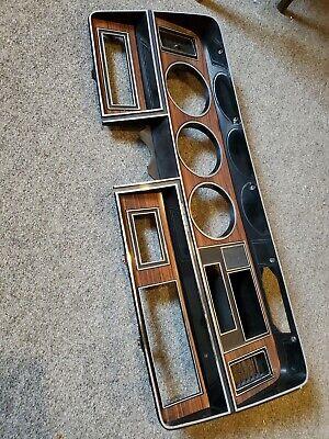 1st Gen DODGE RAM Pickup Ramcharger wood grain Instrument bezel - very nice