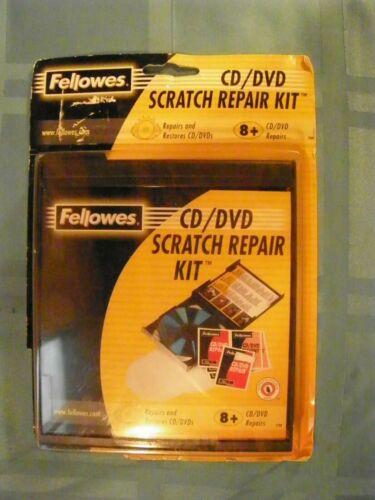Fellowes CD DVD Scratch Repair Kit 99763 - NEW