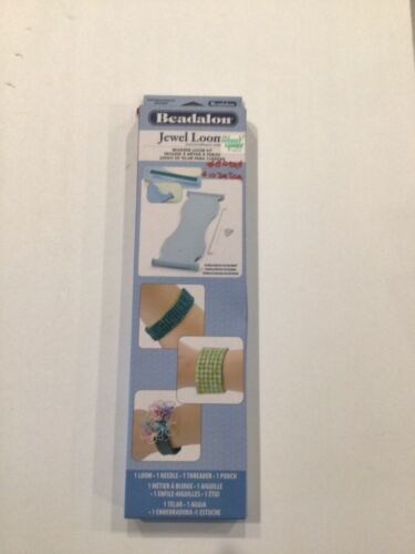 New in bix Beadalon Jewel loom beading loom kit instructions included