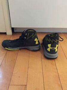 Gently Used Under Armour Men's Basketball sneakers size 9.