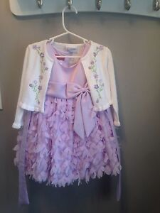2T dress with sweater - worn once - $25