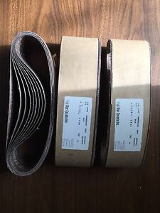 "3"" x 24"" Makita sanding belts  $ 6"""
