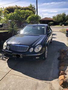 Mercedes E280 parts