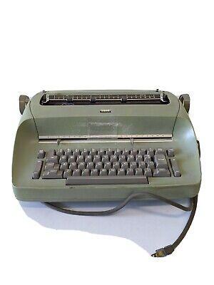 Vintage Ibm Selectric I Electric Typewriter Mint Green - Tested Works Model 71
