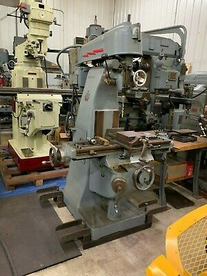 U.s. Machine Tool Model Vt Vertical Milling Machine - Item 1068