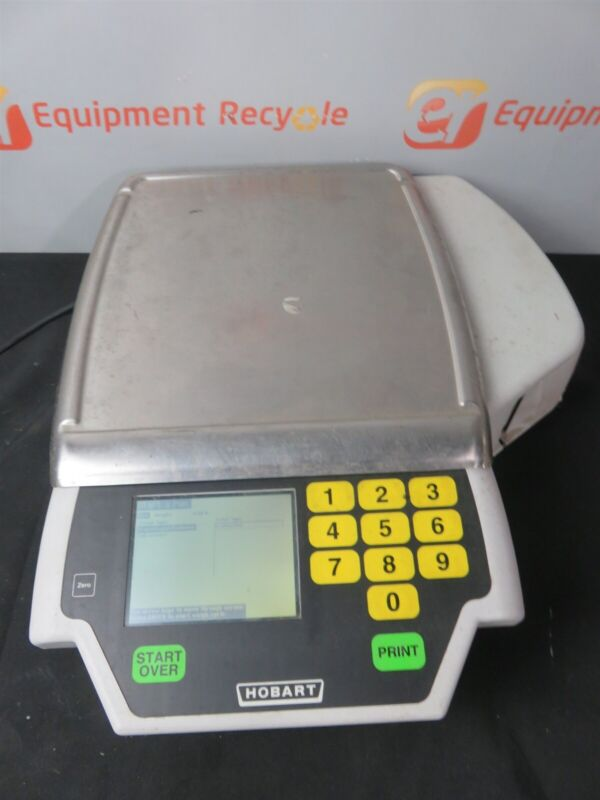 Hobart Quantum Digital Commercial Deli Grocery Meat Seafood Scale Label Printer