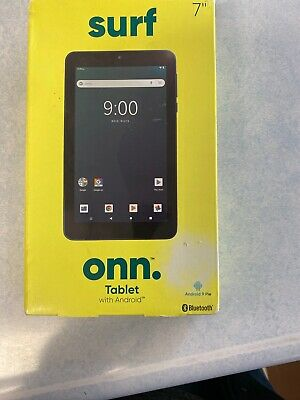 "ONN Surf Tablet 7"" 16GB Android 9.0 Pie 1.3 GHz Manufacturer refurbished"