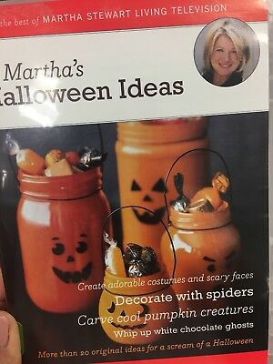 Marthas Halloween Ideas (DVD, 2006)](Horror Halloween Ideas)