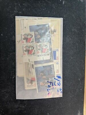 US Postage 100 13cent stamps $13 face value