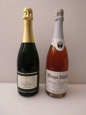 2 Flaschen feinster Winzer - Jahrgangs - Sekt !!!