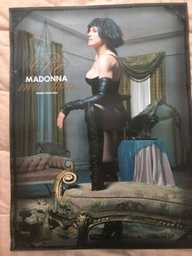 Madonna World Tour Poster
