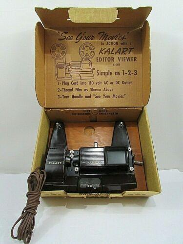 Vintage Kalart Editor Viewer Eight 8mm Film Splicer