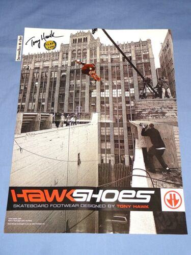 Tony Hawk Shoes 2000 15x20 Poster Adio Skateboard Footwear Birdhouse Powell Deck