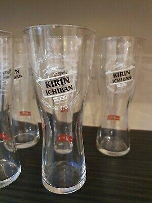 Kirin Ichiban x6 Pint glasses