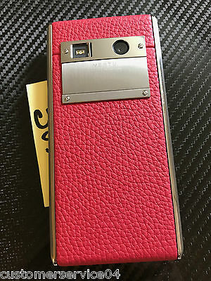 Sincere Vertu ASTER Redden CALF RED Wonderful RARE Identify NEW in BOX A Gotta Have!