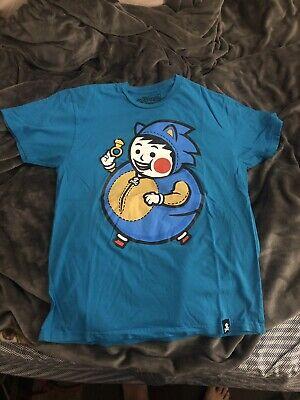 Speedy Big Kid Johnny Cupcakes x Sonic The Hedgehog  Men's Shirt L Large