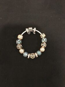 MASSIVE $10,000 authentic pandora gold, charms,bracelets,rings