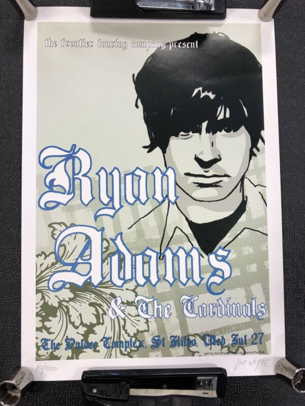 Ryan Adams & The Cardinals The Palace Complex Joe Whyte Numbered 10/500
