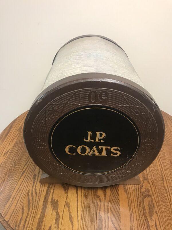 Late 1800's J. P. Coats Spool Cabinet