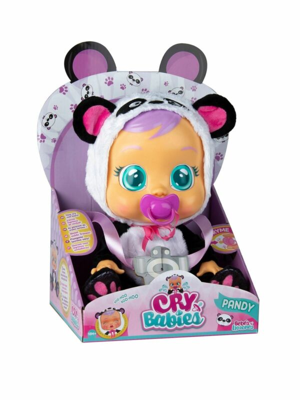 Cry Babies Pandy Interactive Doll