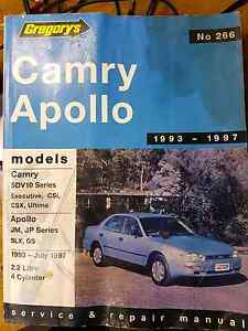 Toyota camry workshop manual gregorys The Gap Brisbane North West Preview