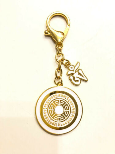 2021 Feng Shui OM Dakini Spirit Enhancing Amulet Keychain