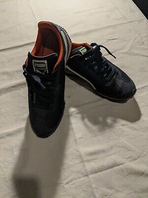 Puma Trainers Navy size 6 whirlwind