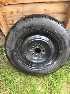 Tire on rim for sale