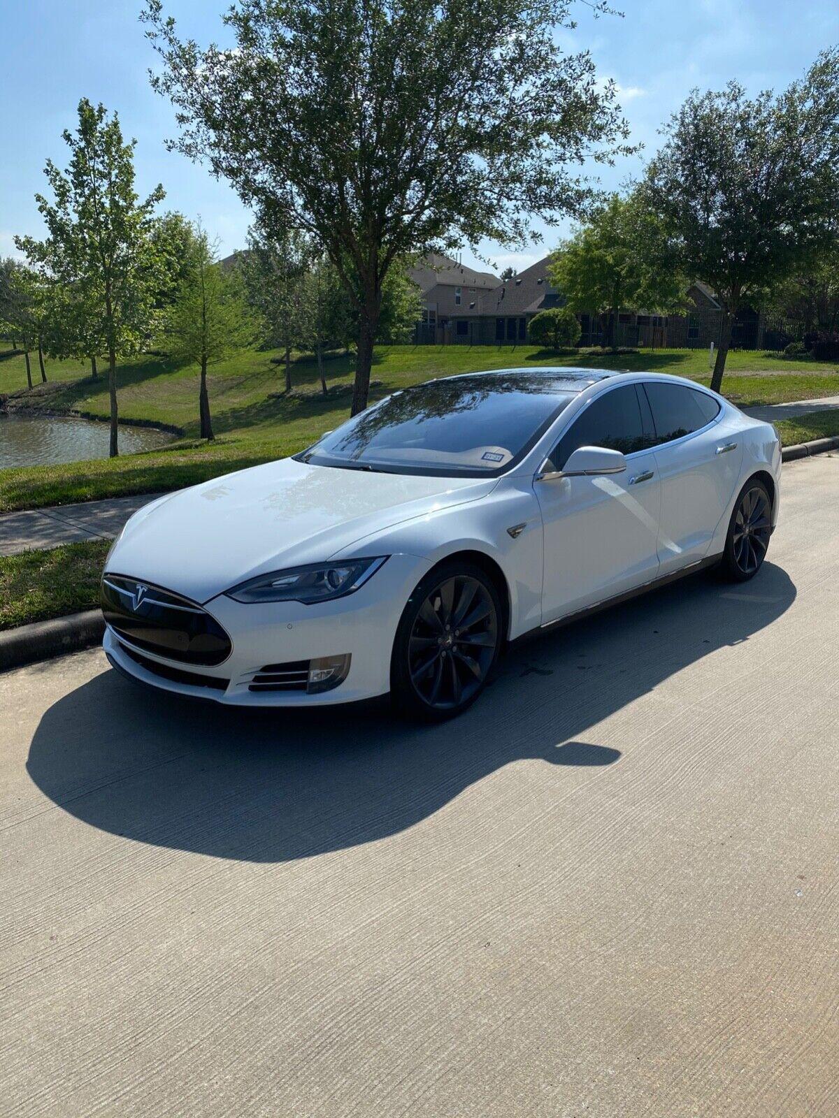 Image 1 Coche Americano usado Tesla Model S 2014
