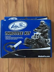 Atv twist throttle
