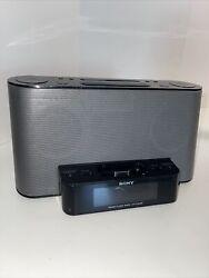 Sony ICF-CS10iP Dream Machine FM/AM Clock Radio Speaker Dock iPhone iPod