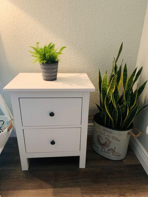 Hemnes Nightstand (2 drawer chest)