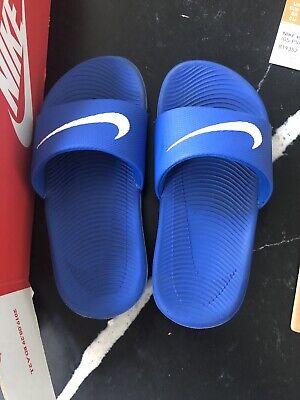 Infant Boys Nike Blue Sliders Size 10.5