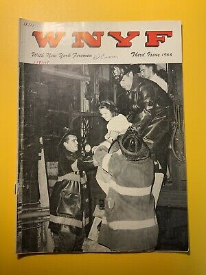 WNYF FDNY New York Firefighters Magazine 3rd 1966 High Expansion Foam ()