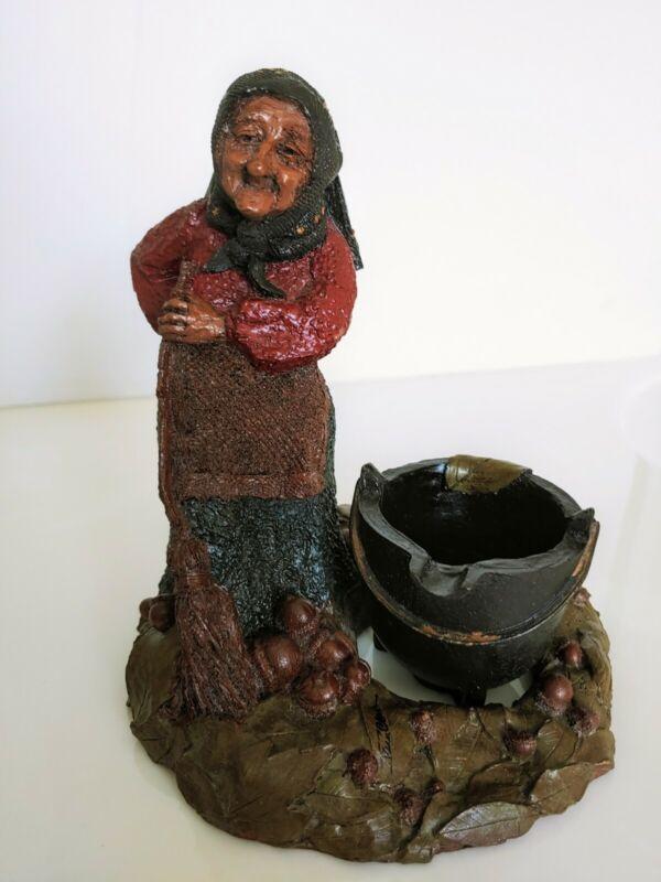 PRICE REDUCTION!! Tom Clark Gnome Katie W/ Detachable Cauldron. Signed #20 RARE